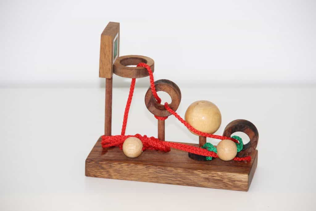 Basketball String Puzzle