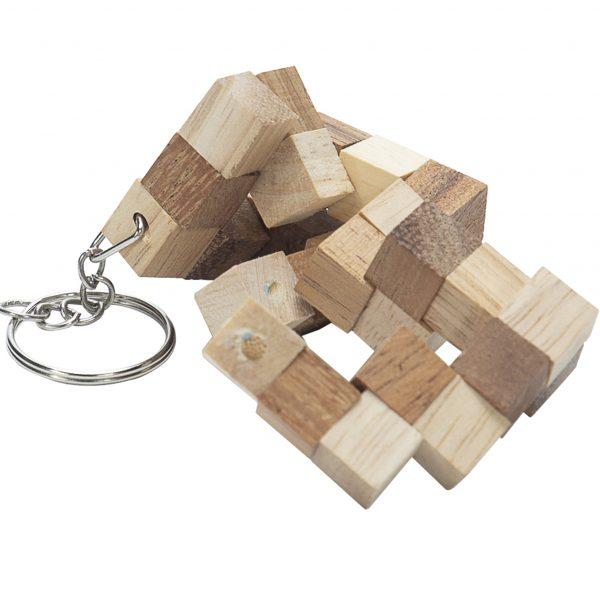 Snake Cube Key chain